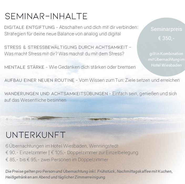 Seminar auf Sylt_